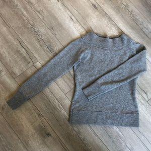 Ann Taylor Wool Sweater in Gray